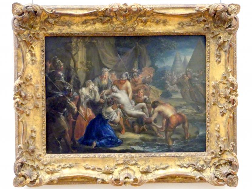 Johann Georg Platzer: Die Rettung Alexanders des Großen aus dem Flusse Kydnos, 1730 - 1745