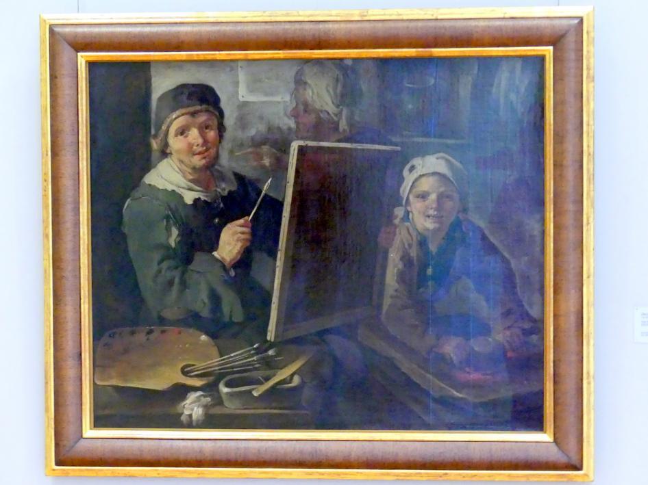 Jacob Franz Cipper (Il Todeschini): Der Maler in seiner Werkstatt, 1710 - 1730
