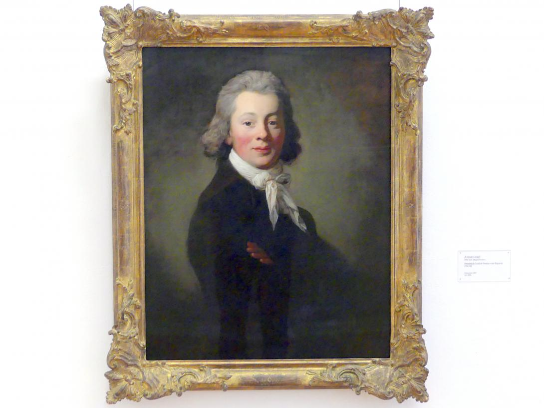 Anton Graff: Friedrich Gottlob Benno von Heynitz, 1791 - 1792