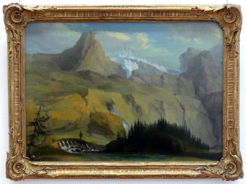 Caspar Wolf: Der Siebenbrunnen im oberen Simmental, 1777