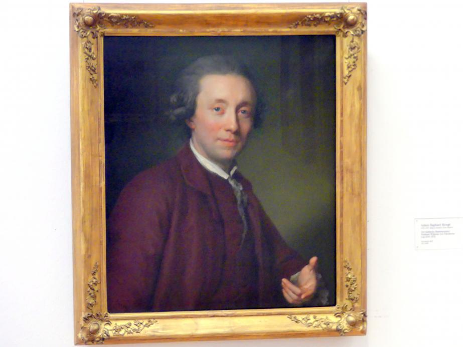 Anton Raphael Mengs: Der badische Staatsminister Freiherr Wilhelm von Edelsheim, um 1770 - 1772