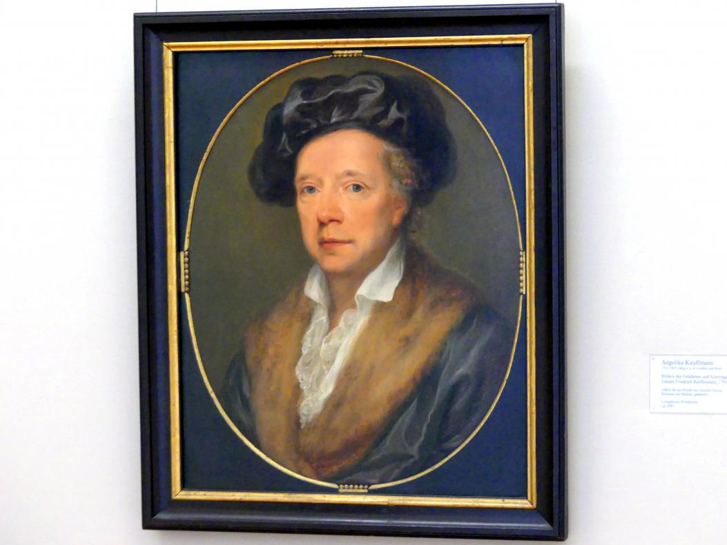 Angelika Kauffmann: Bildnis des Gelehrten und Kunstagenten Johann Friedrich Reiffenstein, 1793