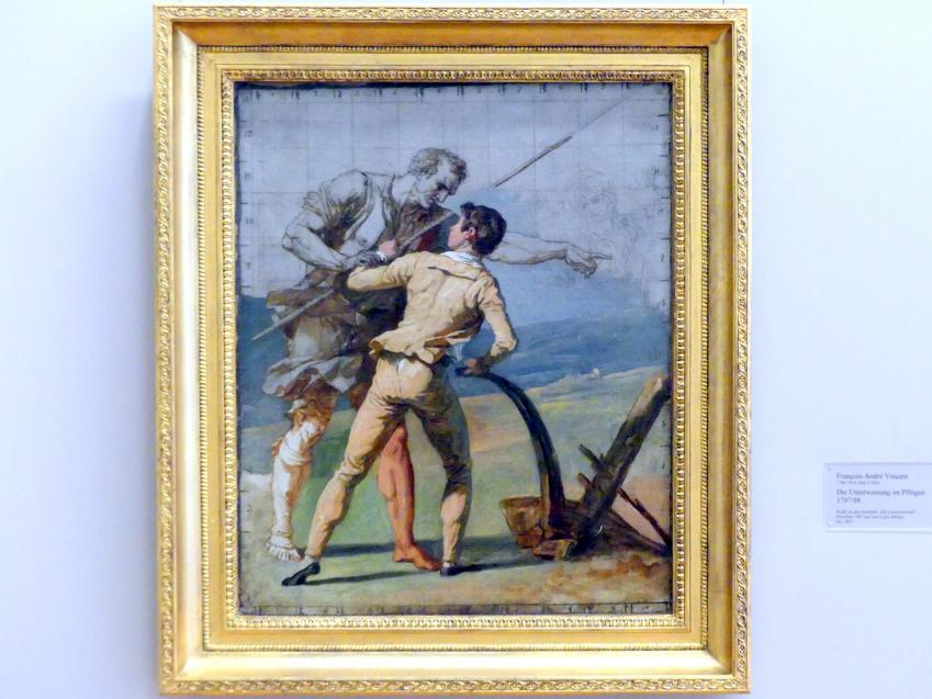 François-André Vincent: Die Unterweisung im Pflügen, 1797 - 1798