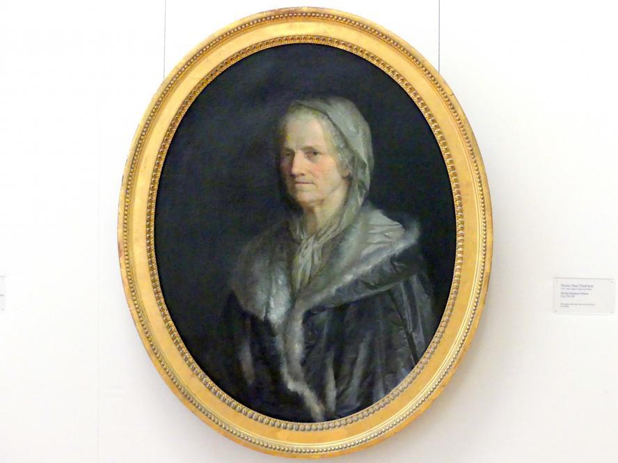 Pierre Paul Prud'hon: Bildnis Madame Simon, um 1781 - 1783