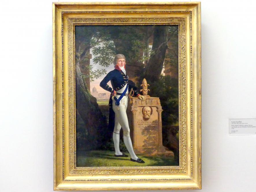 Louis Gauffier: Prinz August Frederick, späterer Herzog von Sussex, an ein römisches Grabmal gelehnt, 1793