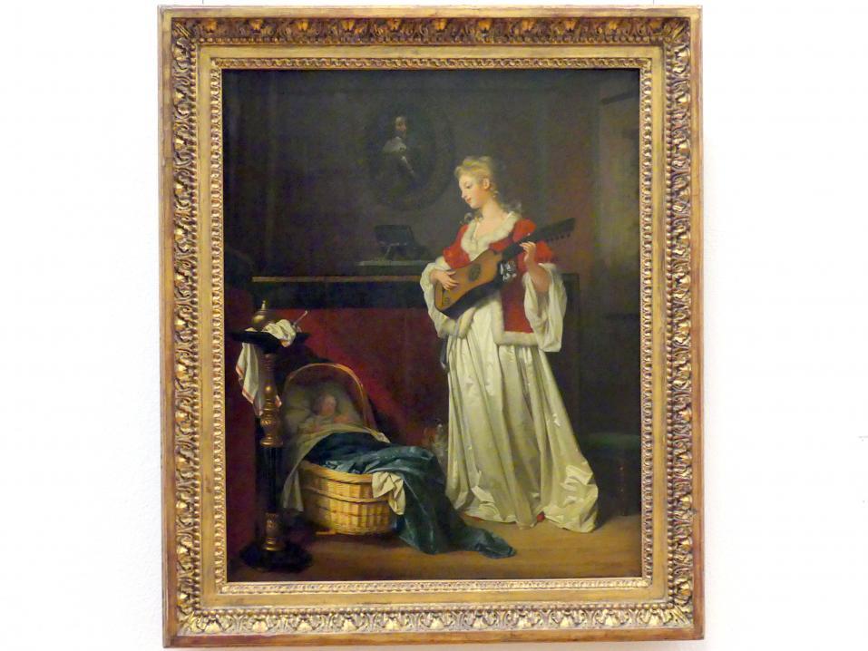 Marguerite Gérard: Schlafe, mein Kind, 1783 - 1788