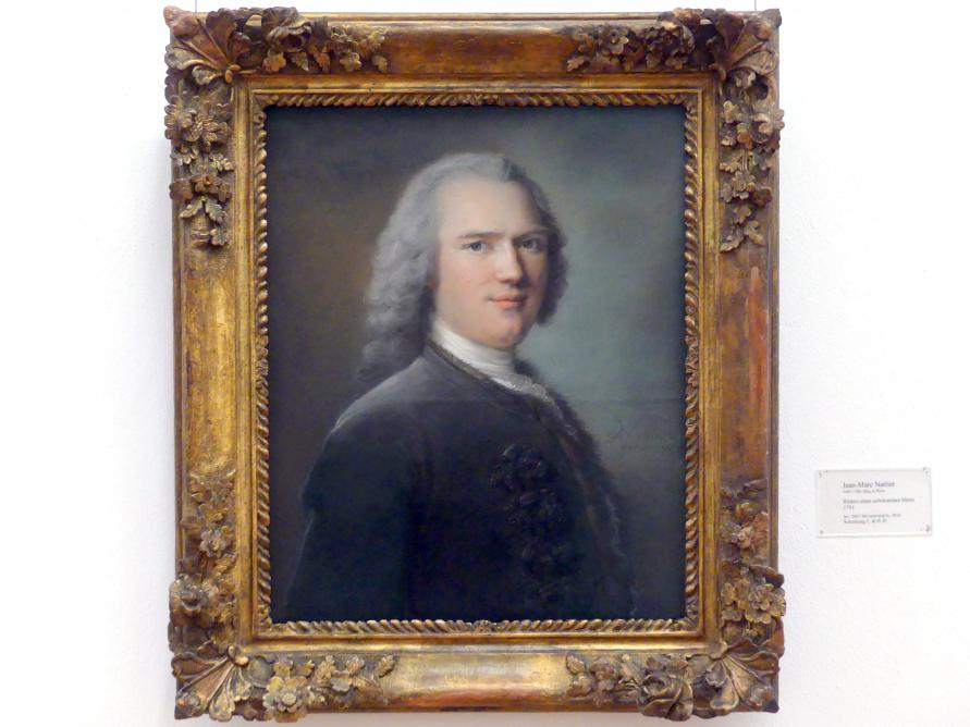 Jean-Marc Nattier: Bildnis eines unbekannten Herrn, 1753