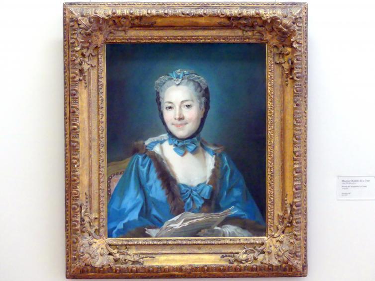 Maurice Quentin de La Tour: Bildnis der Marguerite Le Comte, 1752 - 1753