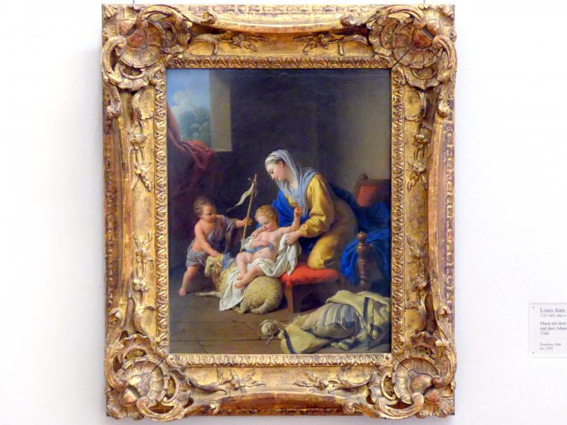 Louis Jean François Lagrenée: Maria mit dem Kinde und dem Johannesknaben, 1764