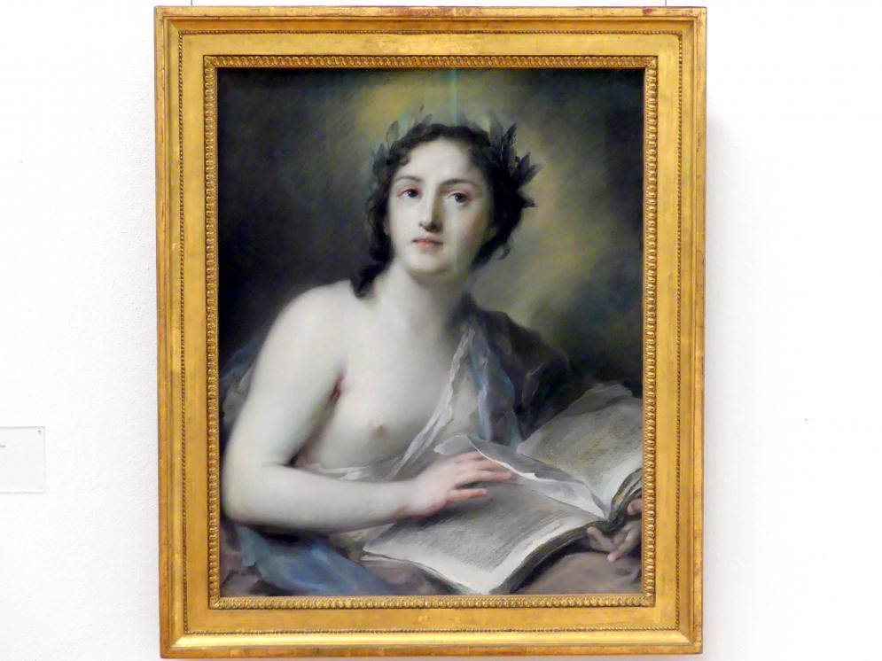 Rosalba Carriera: Die Poesie, um 1720