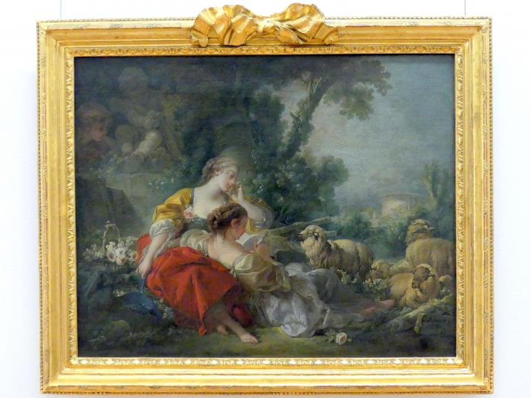 François Boucher: Zwei Schäferinnen, 1760