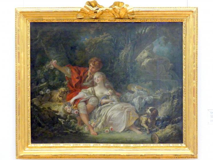 François Boucher: Schäfer und Schäferin, 1760