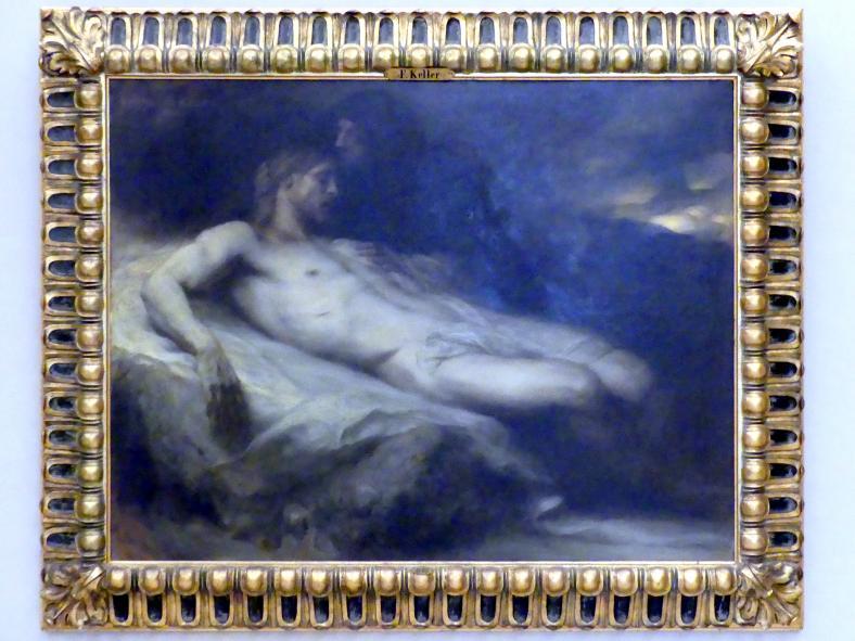Ferdinand Keller: Die Beweinung Christi, 1904