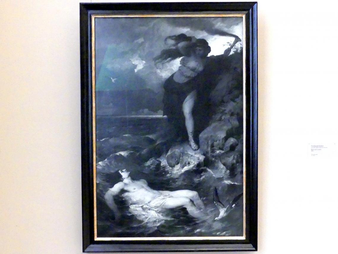 Ferdinand Keller: Hero und Alexander, 1875