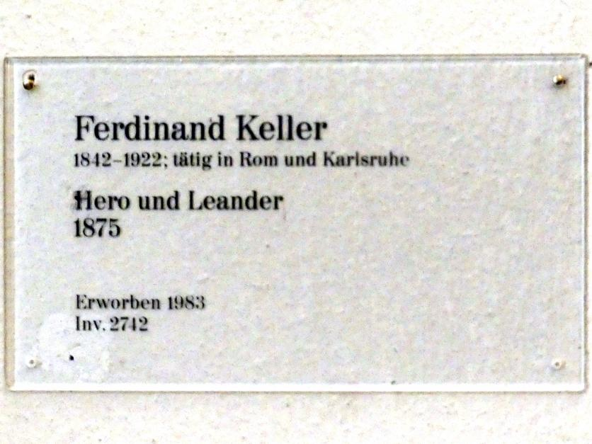 Ferdinand Keller: Hero und Alexander, 1875, Bild 2/2