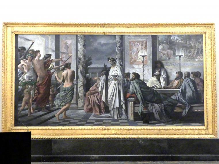 Anselm Feuerbach: Das Gastmahl des Plato, 1869