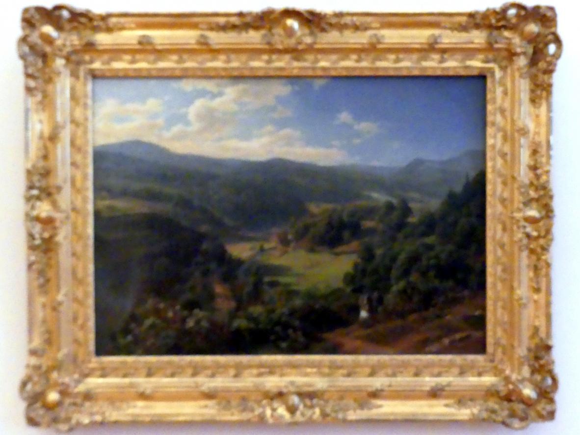 Johann Wilhelm Schirmer: Das Geroldsauer Tal bei Baden-Baden, 1855