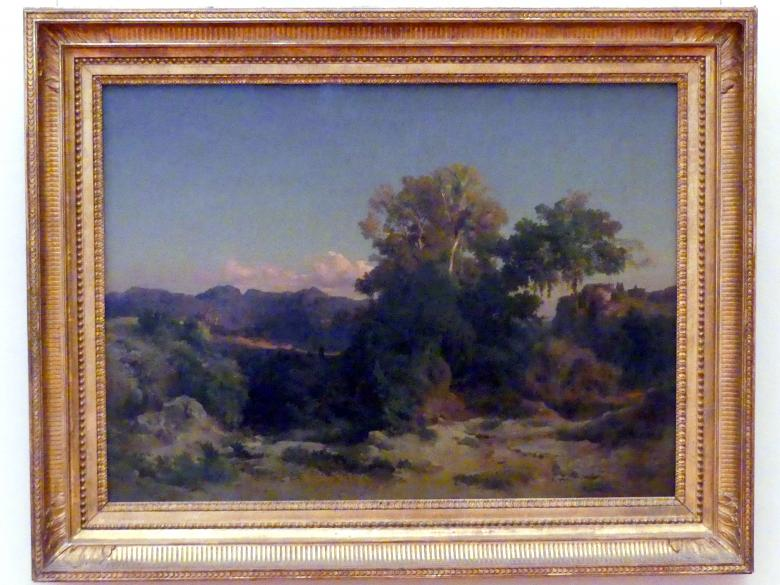 Arnold Böcklin: Landschaft im Albanergebirge, 1851