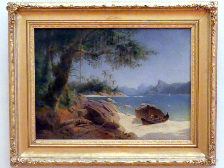 Ferdinand Keller: Küstenlandschaft bei Rio de Janeiro, 1864