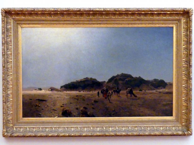 Eugen Bracht: In der Wüste Araba, 1882