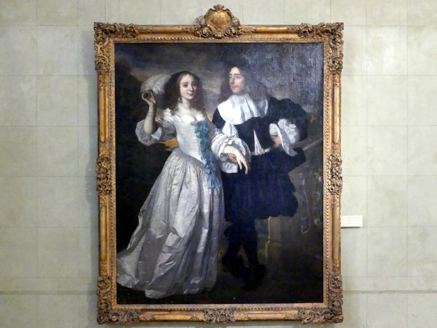 Bartholomeus van der Helst: Bildnis eines Ehepaares, 1661