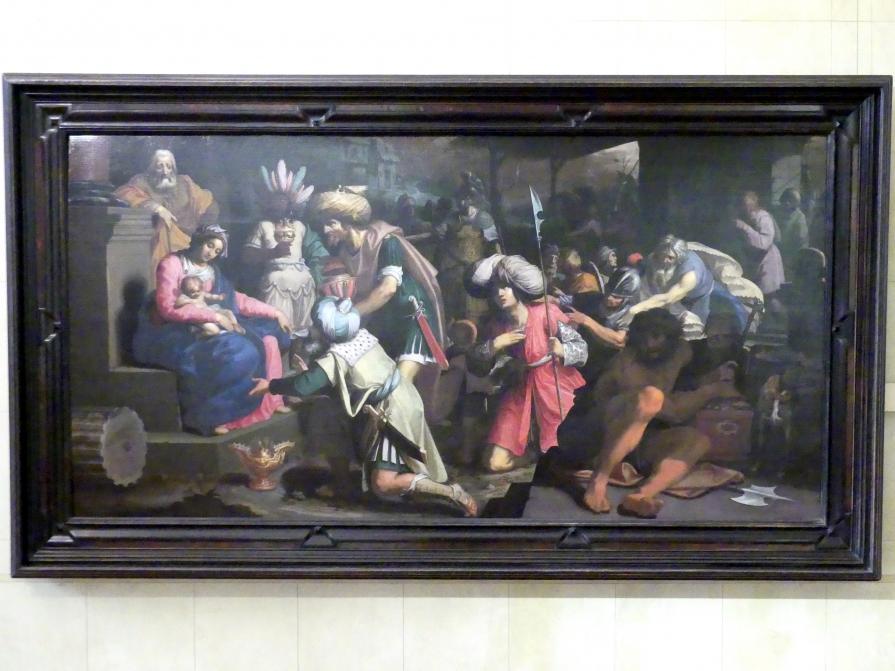 Abraham Janssens van Nuyssen: Die Anbetung der Könige, 1605