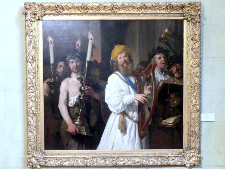 Jan de Bray: König David geleitet die Bundeslade nach Jerusalem, 1670