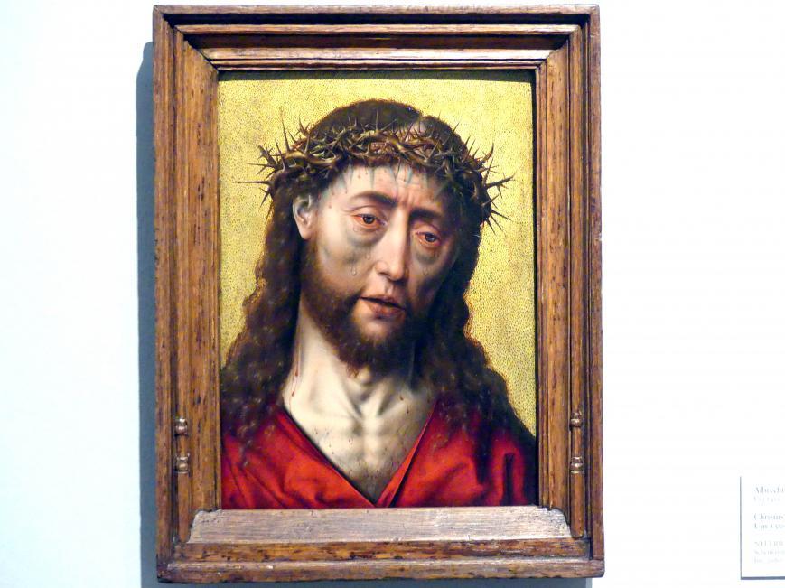 Albert (Aelbrecht) Bouts: Christus mit der Dornenkrone, um 1505