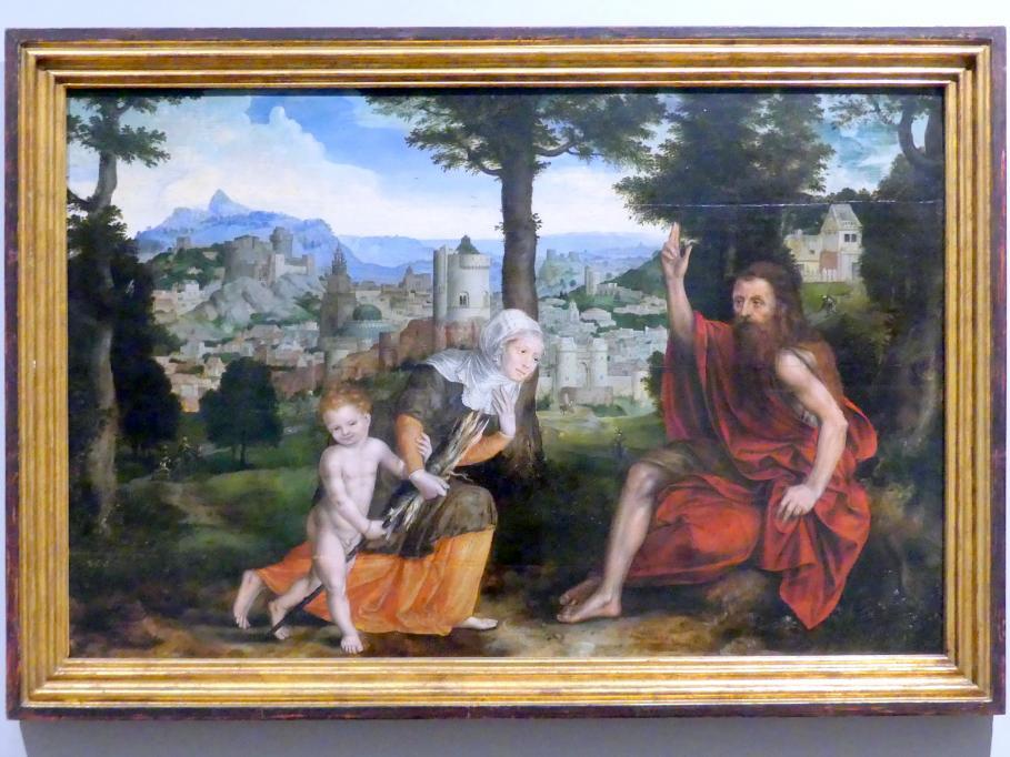 Jan Massys: Der Prophet Elias und die Witwe von Sarepta, 1565