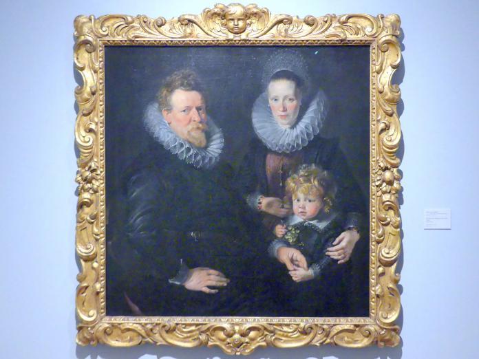 Peter Paul Rubens: Bildnis eines Ehepaars mit einem Kinde, um 1610