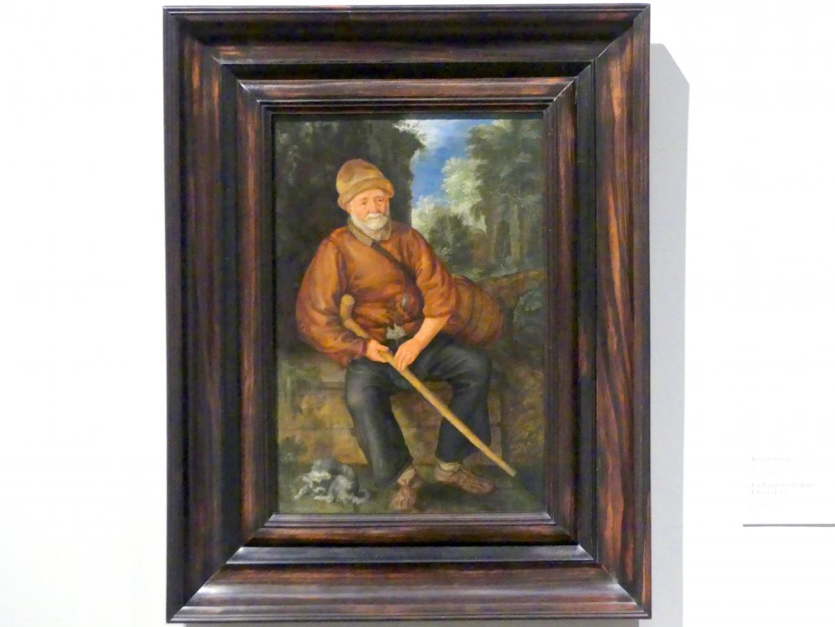 Roelant Savery: Ein Bauer auf der Rast, um 1614 - 1617