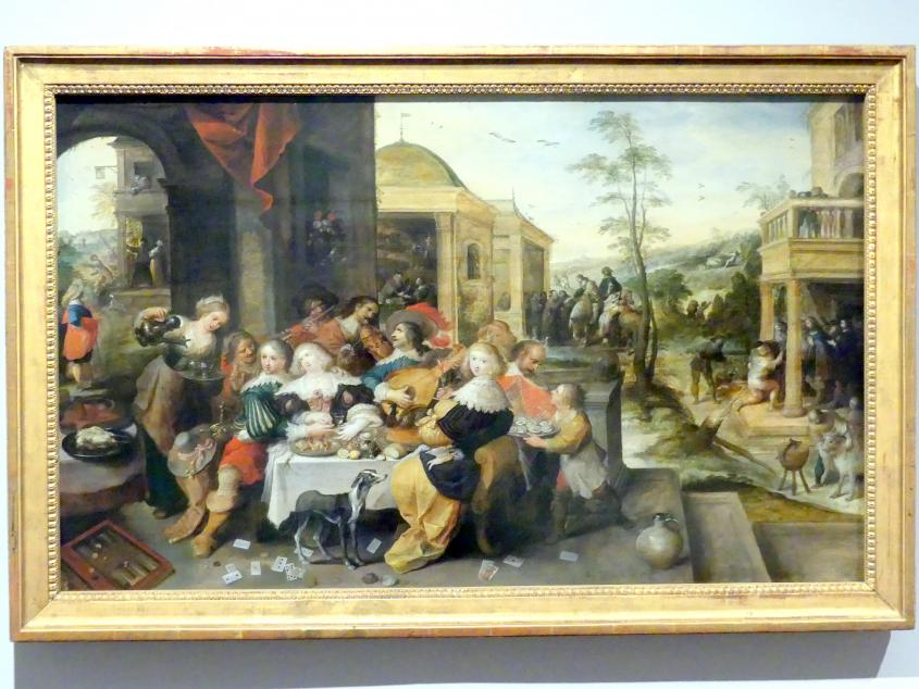 Frans Francken der Jüngere (Frans II Francken): Gleichnis vom verlorenen Sohn, um 1630