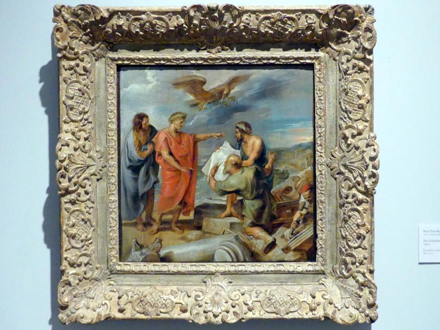 Peter Paul Rubens: Die Gründung Konstantinopels, 1622