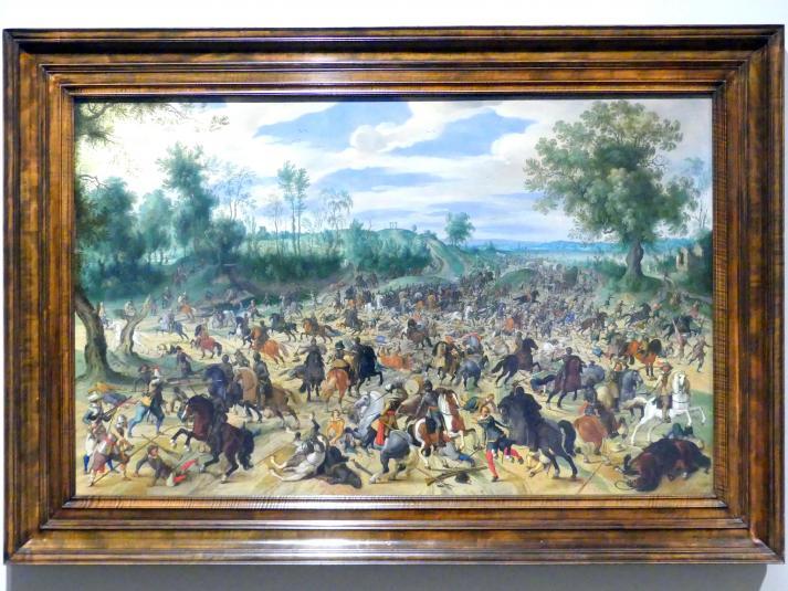 Sebastian Vrancx: Überfall auf einen Geleitzug, 1618