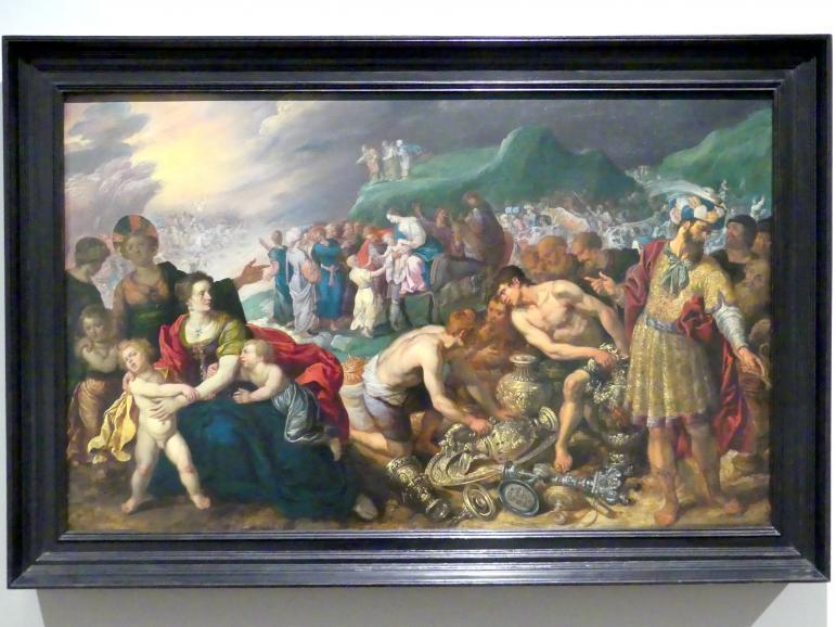 Die Israeliten nach dem Durchzug durch das Rote Meer, um 1620
