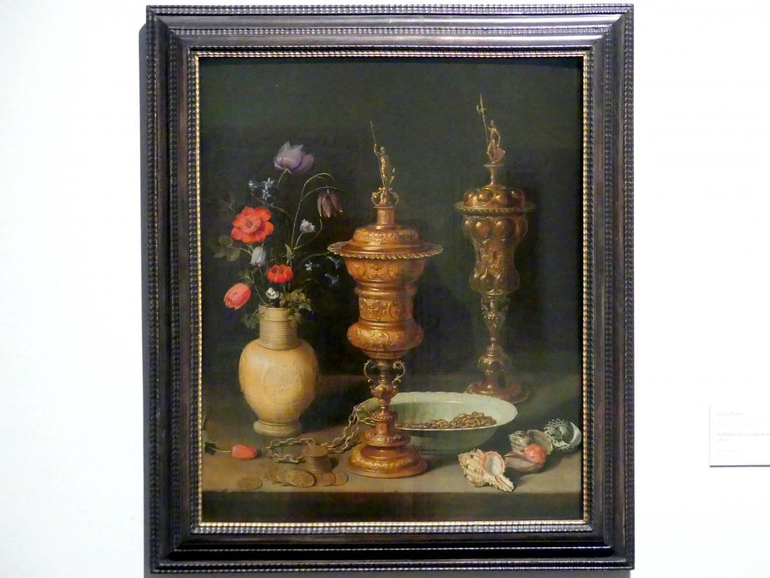 Clara Peeters: Stillleben mit Goldpokalen, 1612