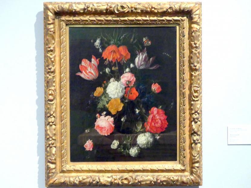 Cornelis de Heem: Blumenstrauß, um 1670