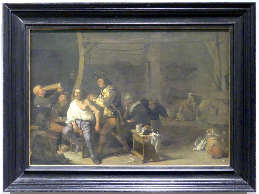 Cornelis Saftleven: Die Schulteroperation, 1636