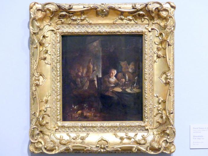 David Teniers der Jüngere: Hexenküche, um 1645 - 1650