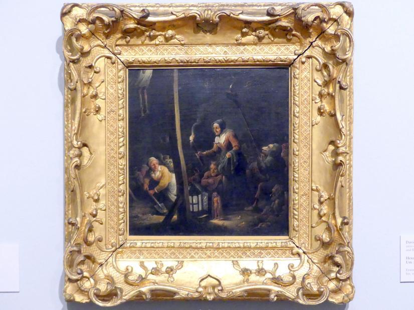 David Teniers der Jüngere: Hexenszene, um 1675 - 1680