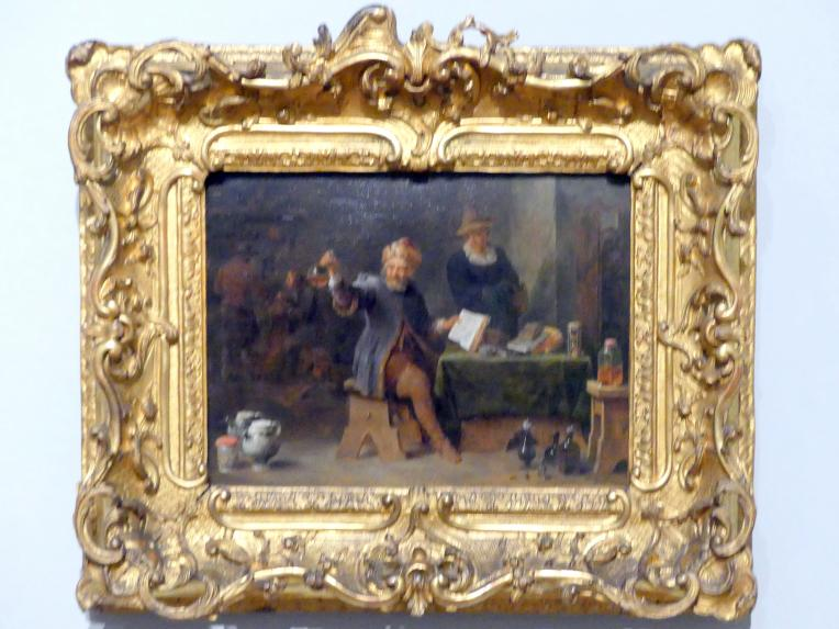 David Teniers der Jüngere: Der Dorfarzt, um 1660 - 1665