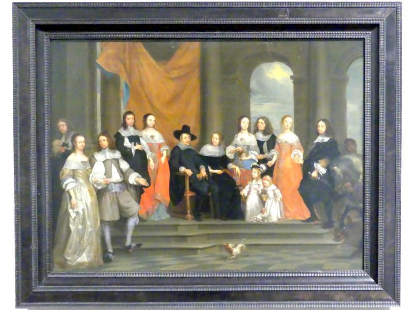 Gonzales Coques: Familienbildnis, um 1660