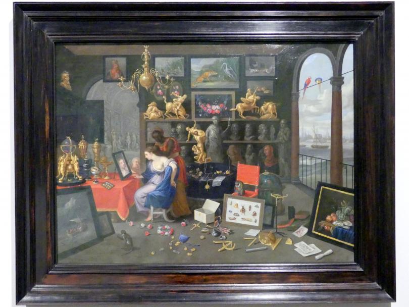 Jan van Kessel: Eine Kunstkammer mit Venus bei der Toilette, 1659