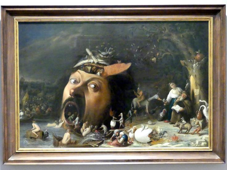 Joos van Craesbeeck: Versuchung des heiligen Antonius, um 1650