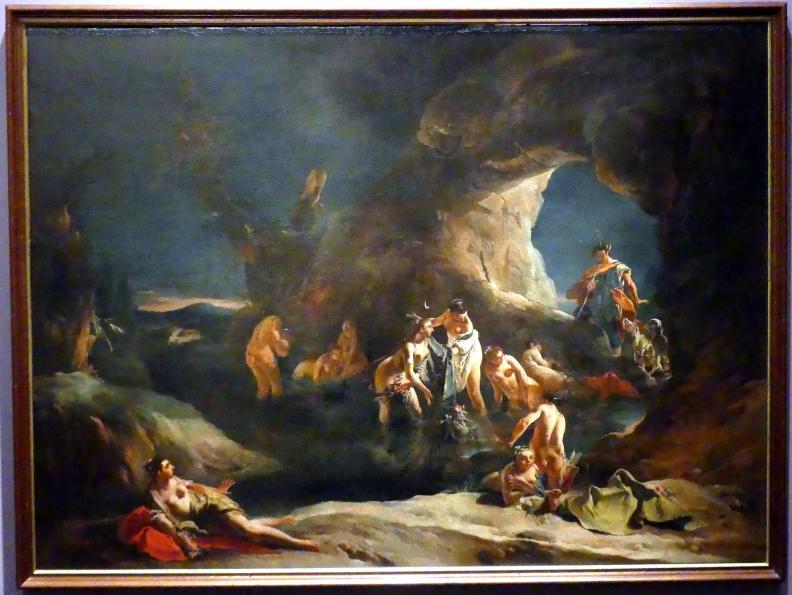 Giovanni Battista Tiepolo: Diana und Aktäon, um 1720 - 1722