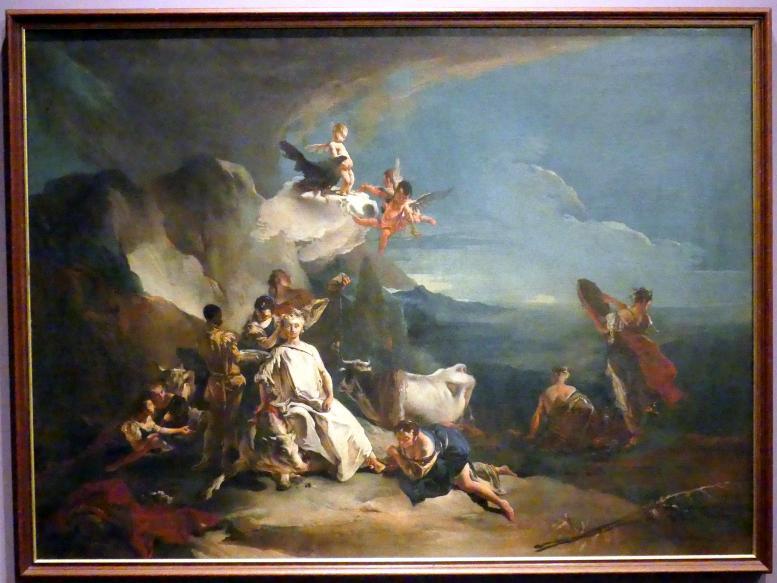 Giovanni Battista Tiepolo: Der Raub der Europa, um 1720 - 1722