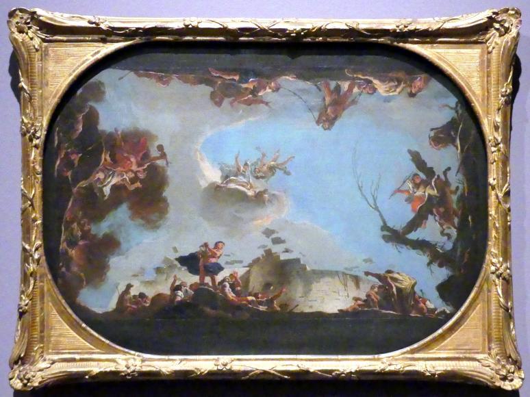 Giovanni Battista Tiepolo: Allegorie der Macht der Beredsamkeit, um 1724 - 1725