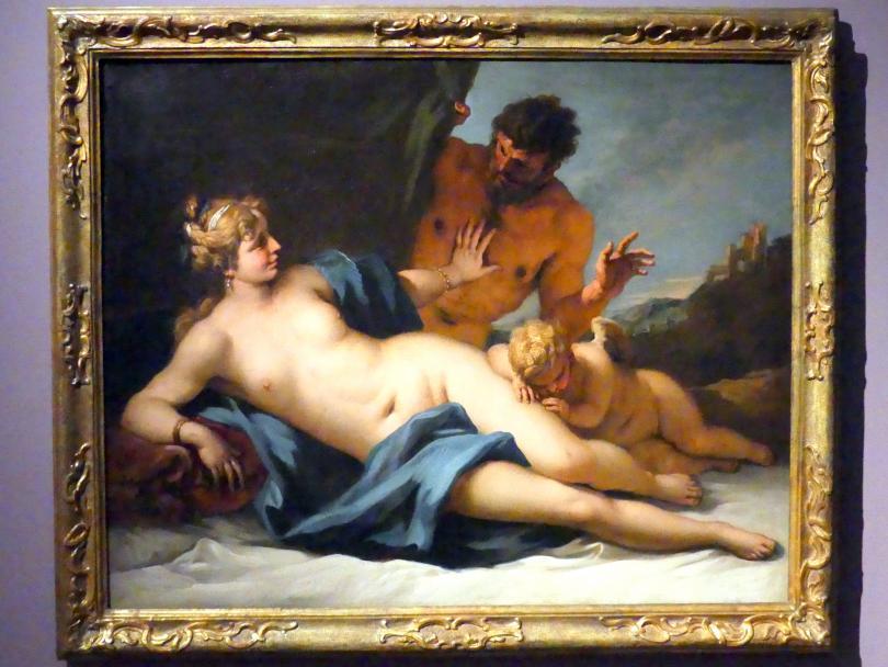 Sebastiano Ricci: Venus und Satyr, um 1720 - 1725