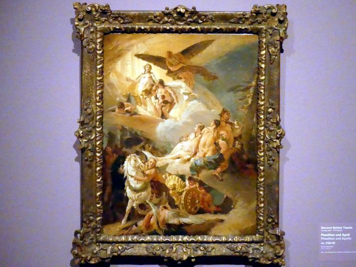 Giovanni Battista Tiepolo: Phaethon und Apoll, um 1730 - 1735