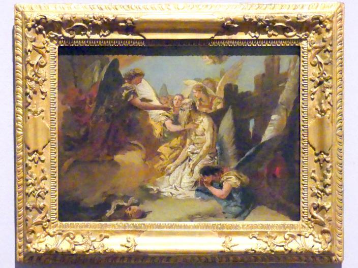 Giovanni Battista Tiepolo: Die letzte Kommunion des heiligen Hieronymus, um 1732 - 1733